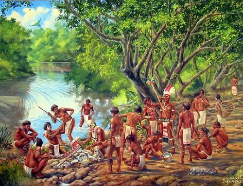 Aboriginal settlements in La Ciénaga de Zapata