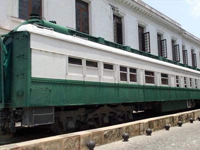 Tren Hershey entre La Habana y Matanzas.